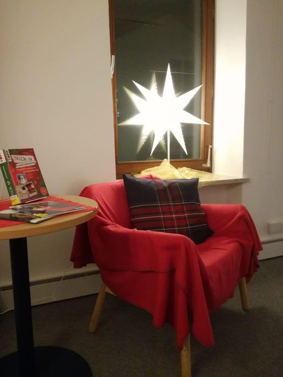 Unser Weihnachtszimmer wartet auf Euch