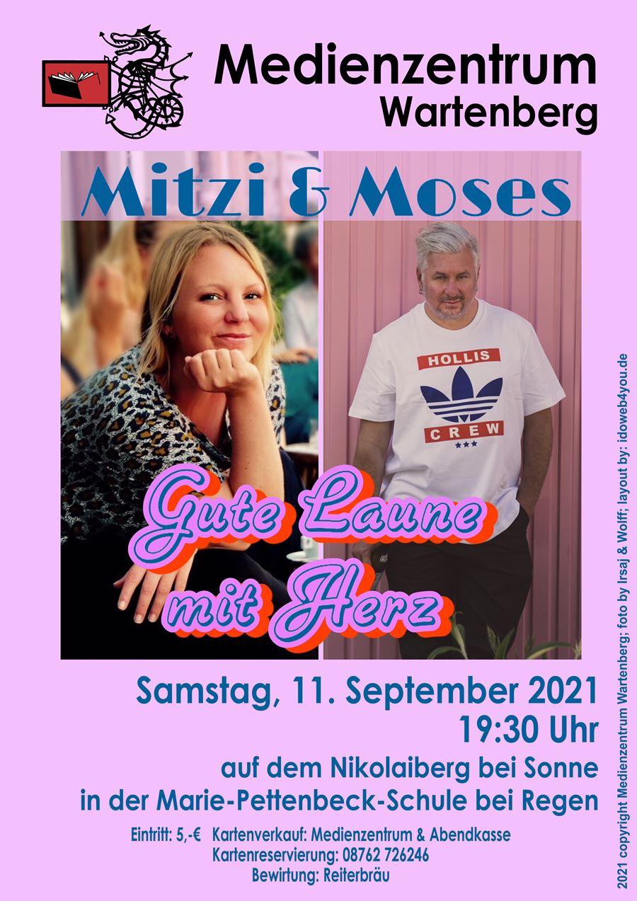 Mitzi & Moses, Vergnügliches und gute Laune mit Herz