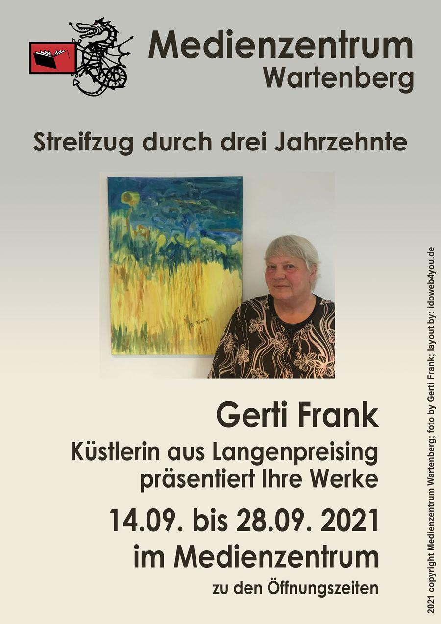 Ausstellung Gerti Frank